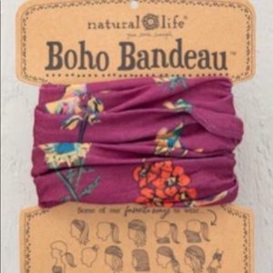Natural Life Boho Bandeau Wear 11 Ways Berry Stems